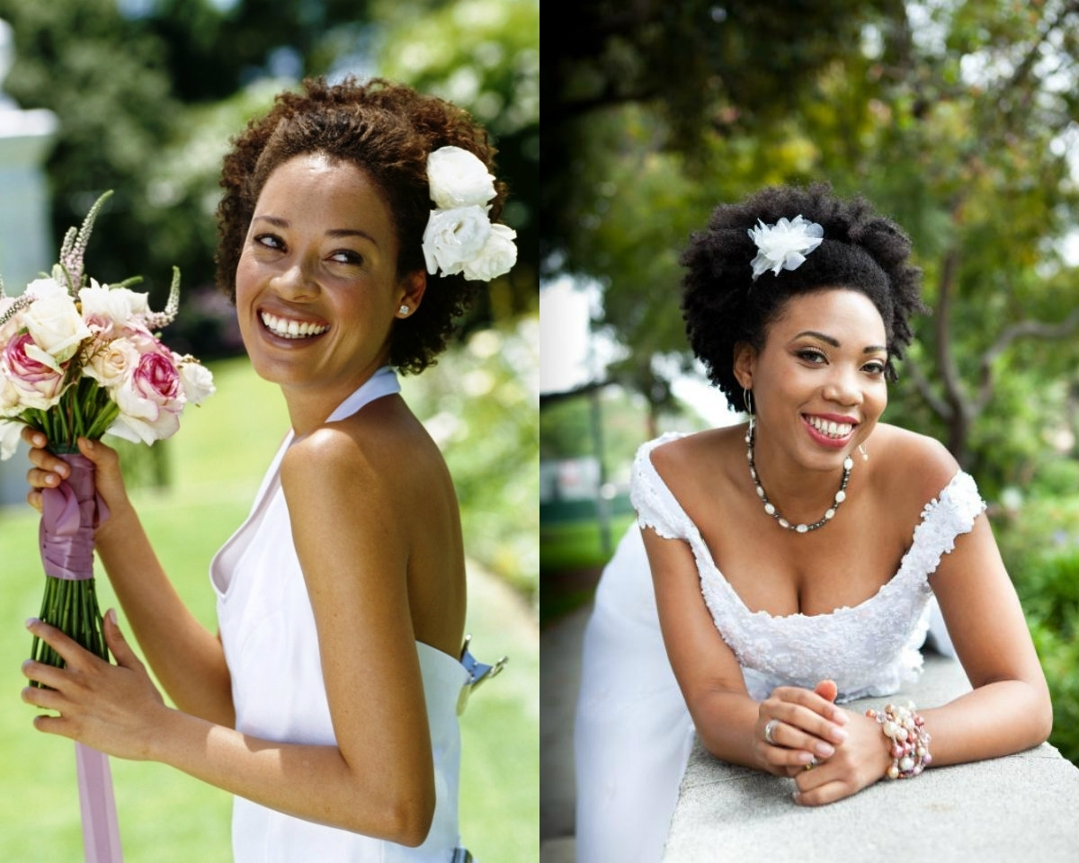 Black Women Wedding Afro Hairstyles (View 11 of 15)