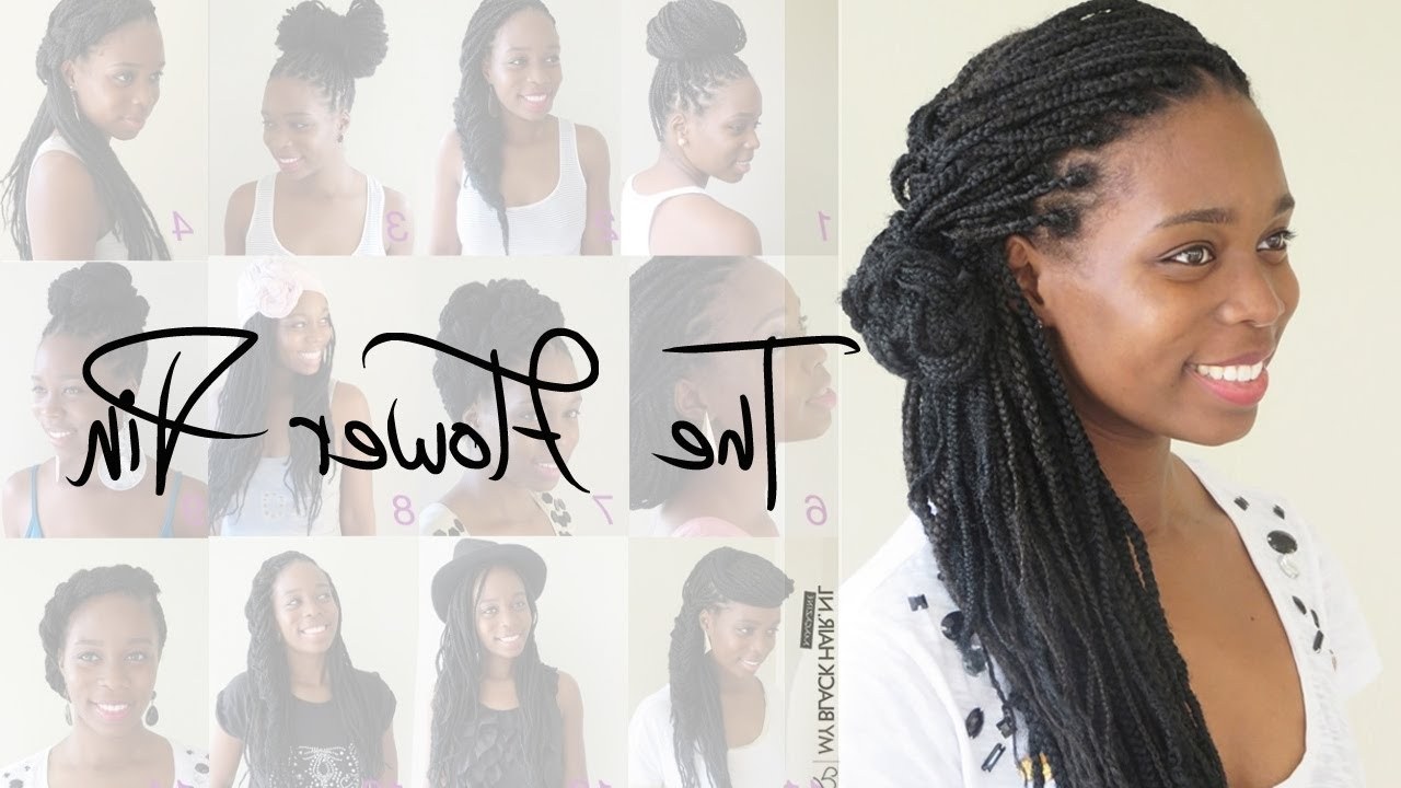 Box Braids Wedding Hairstyle (View 4 of 15)