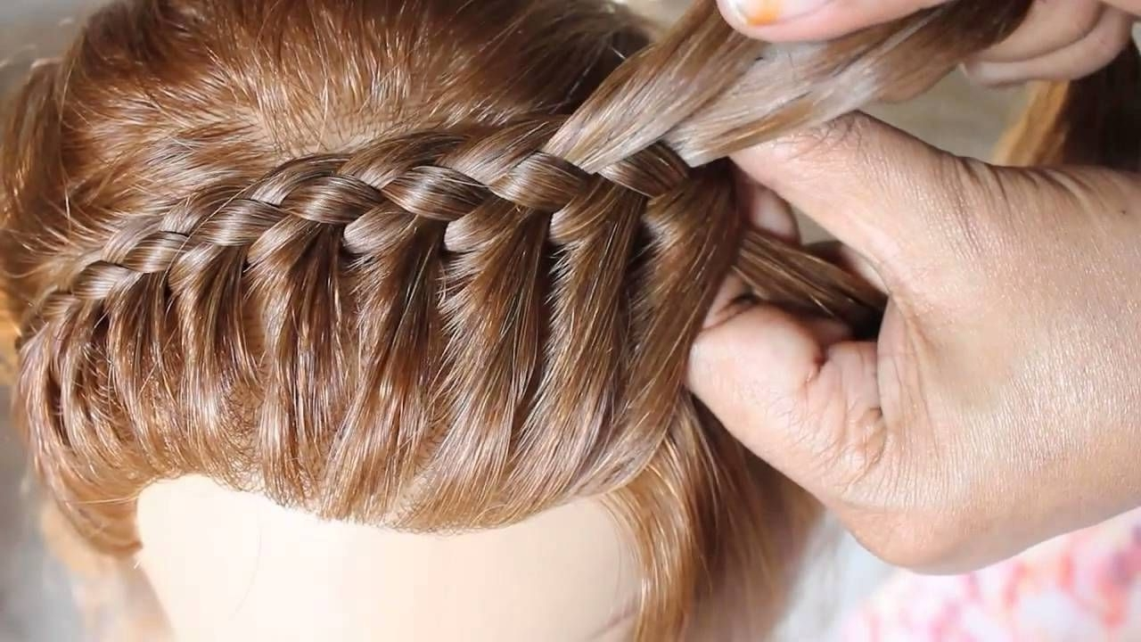 Braided Chignon (Hairstyleesther Kinder) This Is So Lovely! 4 Regarding Current Wedding Hairstyles By Estherkinder (View 2 of 15)
