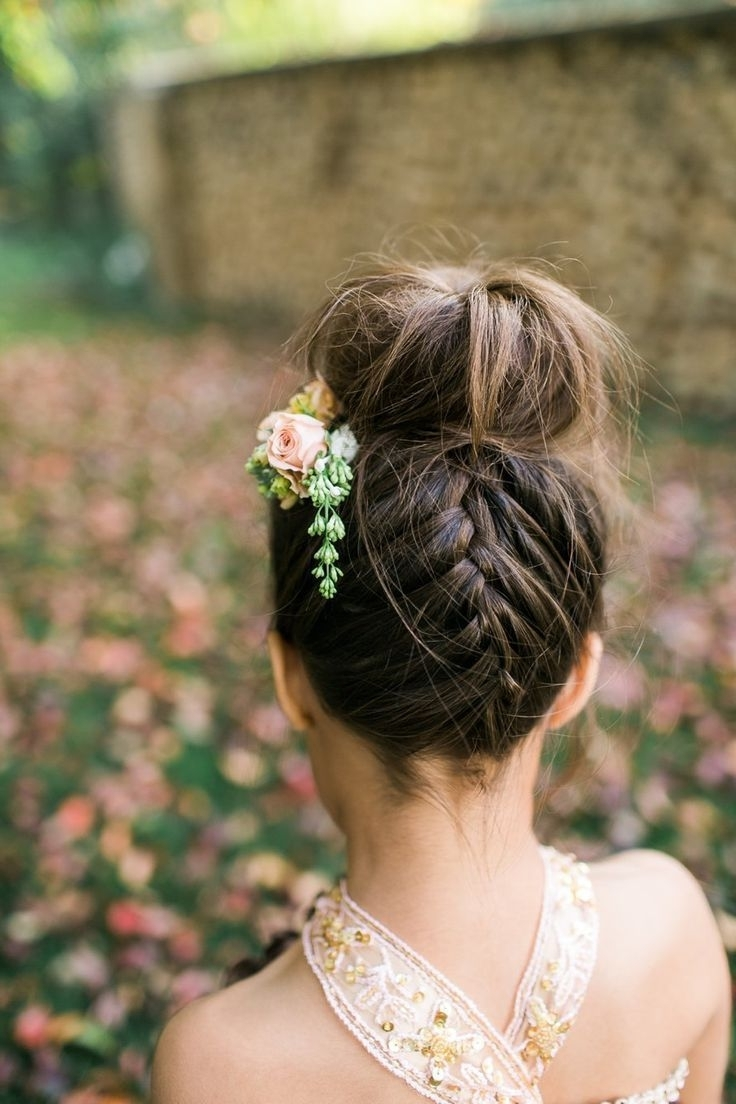 Braided Top Knots, Bridal Bun And In Most Recently Released Knot Wedding Hairstyles (View 4 of 15)