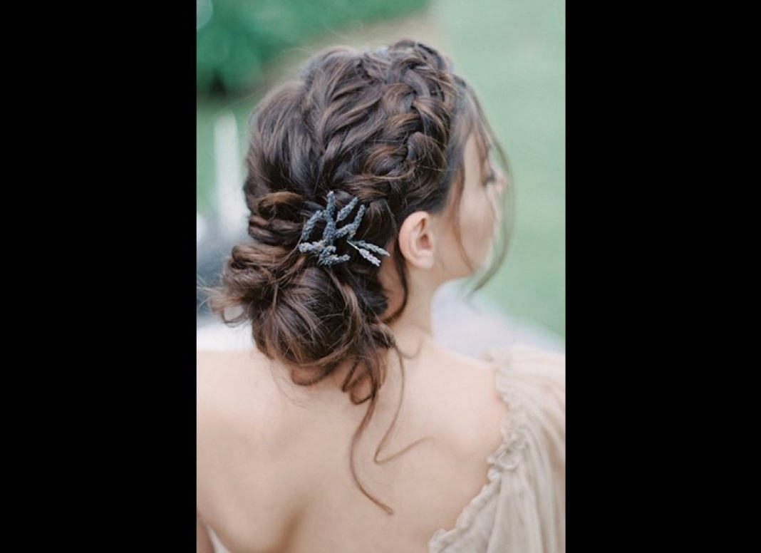 Braided Wedding Hairstyles Ideas With Braided Wedding Hairstyles Regarding Well Known Braided Wedding Hairstyles (View 7 of 15)
