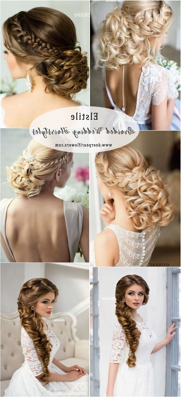 Braided Wedding Intended For Most Recently Released Elstile Wedding Hairstyles For Long Hair (View 11 of 15)
