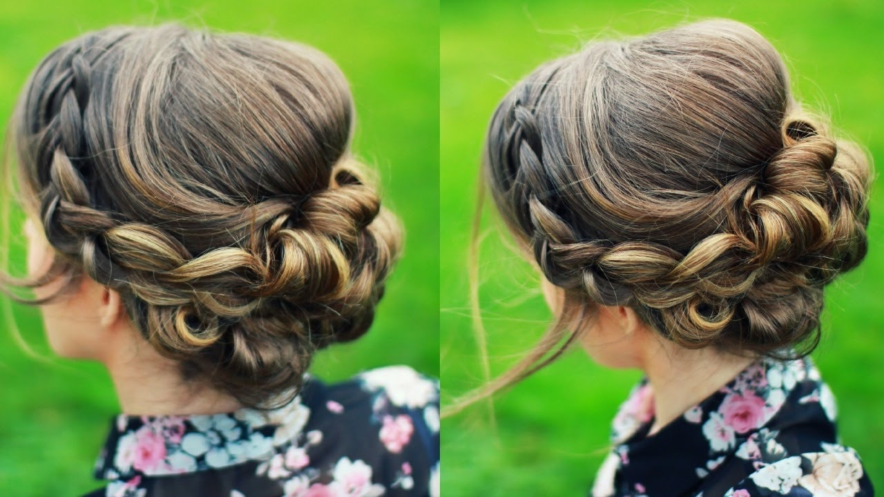 Braidsandstyles12 – Youtube With Regard To Recent Wedding Hairstyles With Braids For Bridesmaids (View 11 of 15)