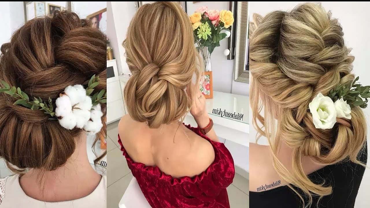 Bridal Hair Tutorial With Regard To Favorite Wedding Hairstyles Updo Tutorial (View 10 of 15)