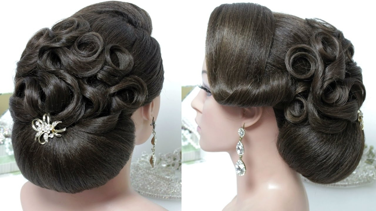 Bridal Hairstyle For Long Hair Tutorial (View 4 of 15)