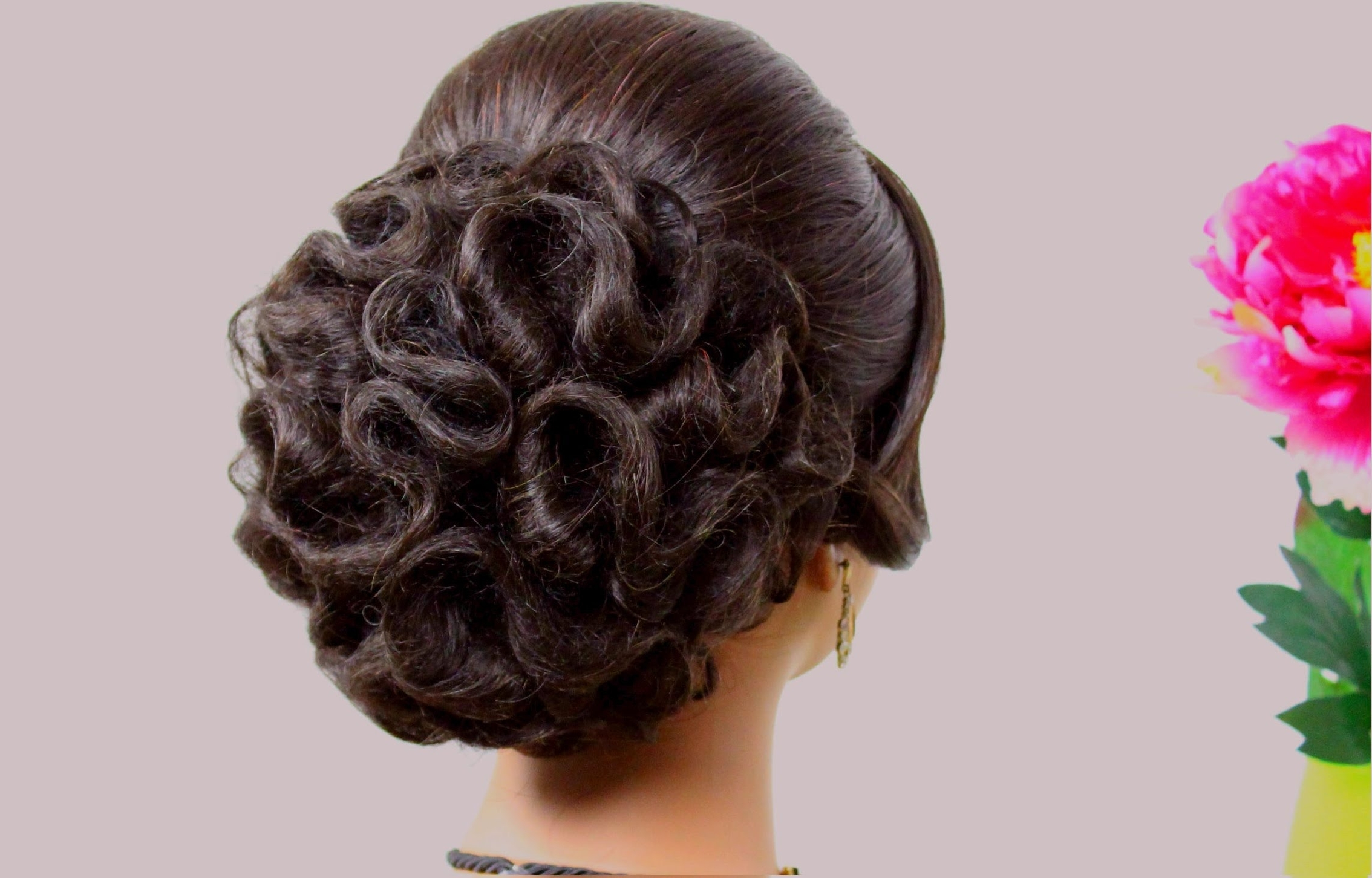 Bridal Hairstyle For Long Hair Tutorial (View 7 of 15)