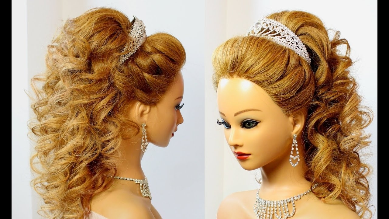 Bridal Hairstyle For Long Hair (View 4 of 15)