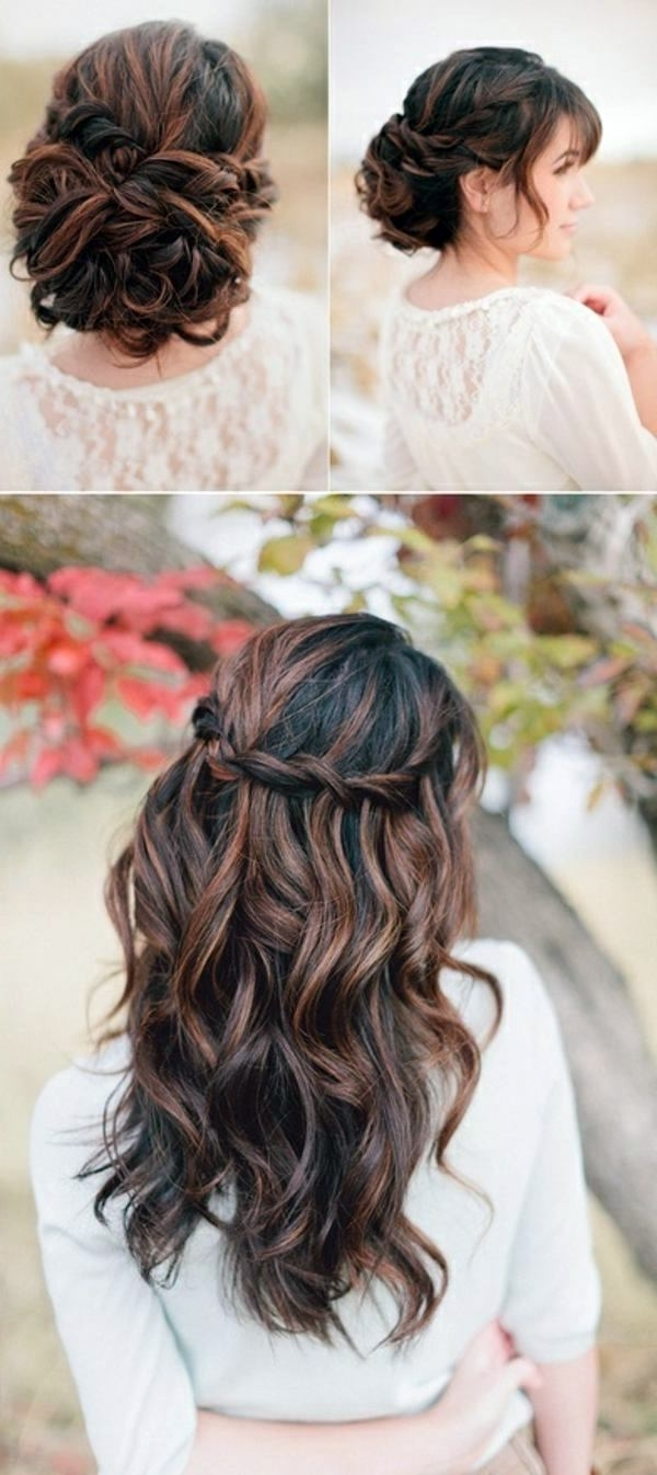 Bridal Hairstyle Half Open – Come On In Style Under The Hood Inside Most Current Wedding Hairstyles For Open Hair (View 8 of 15)