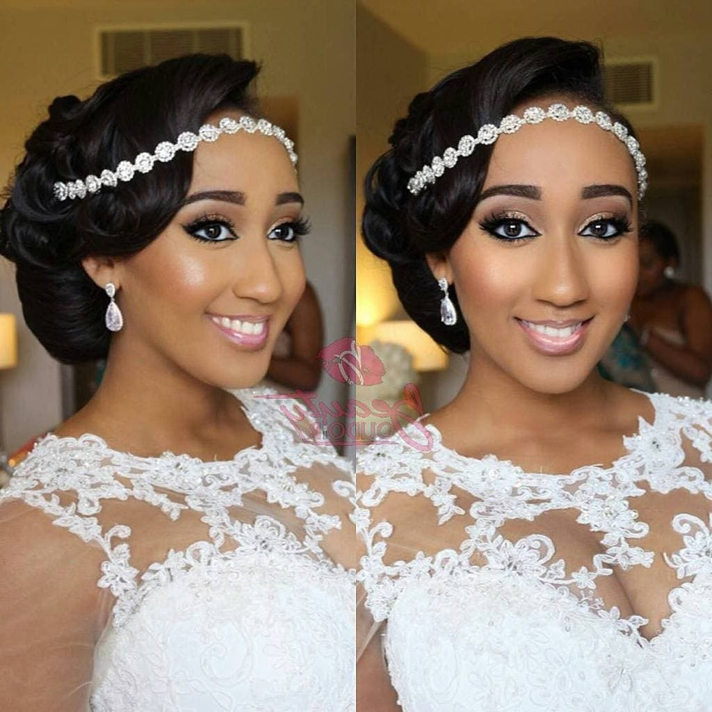 Bridal Hairstyle Inspiration: Updo – My Nigerian Wedding For Famous Wedding Hairstyles For Nigerian Brides (View 7 of 15)