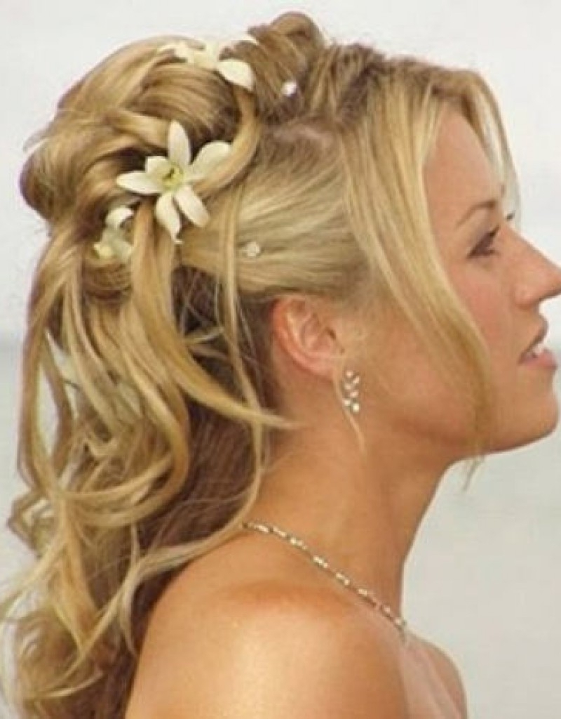 Bridal Hairstyles Long Hair Fringe – Hollywood Official With Regard To 2017 Wedding Hairstyles For Long Hair With Fringe (View 2 of 15)