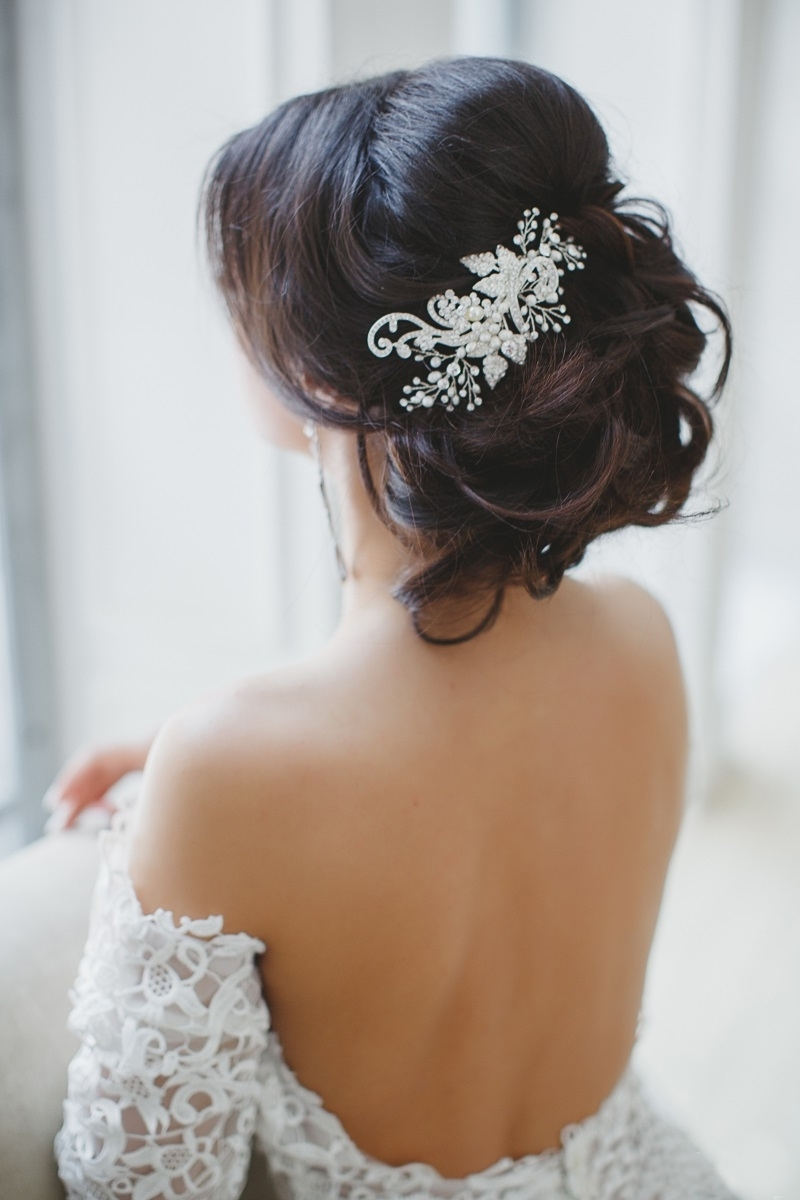 Bridal Hairstyles – Stylish Wedd Blog Inside Popular Wedding Hairstyles For Young Brides (View 9 of 15)