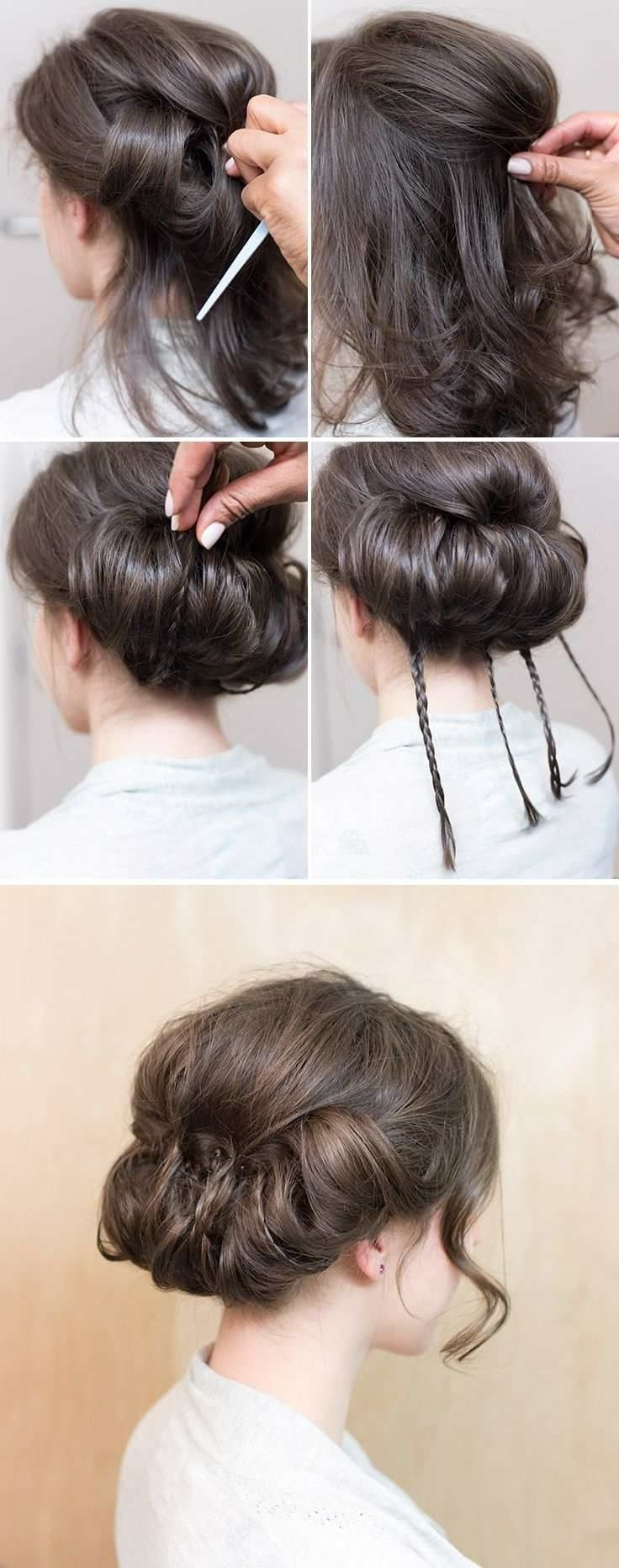 Bridal Hairstyles With Well Known Wedding Hairstyles For Shoulder Length Black Hair (View 15 of 15)