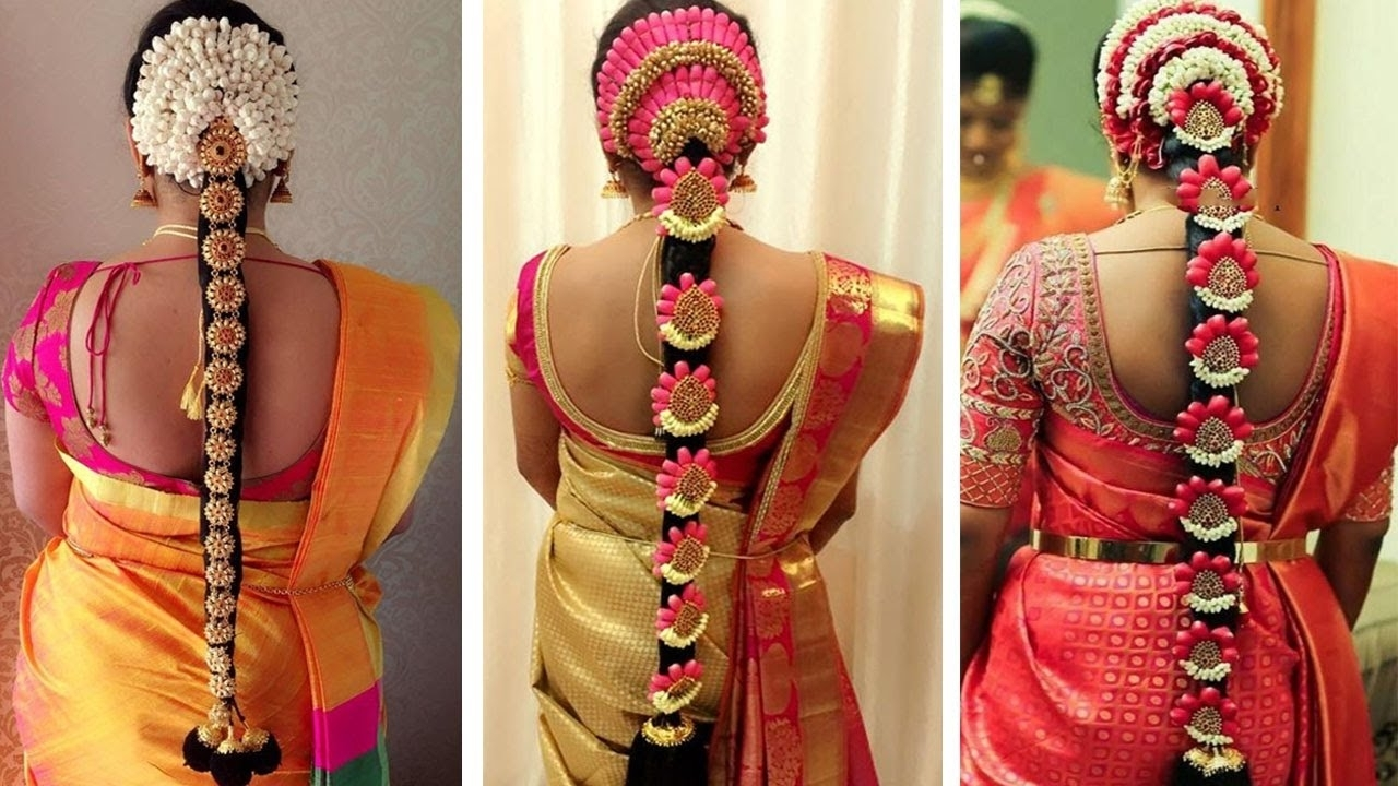 Bridal In Most Up To Date Indian Wedding Hairstyles (View 4 of 15)
