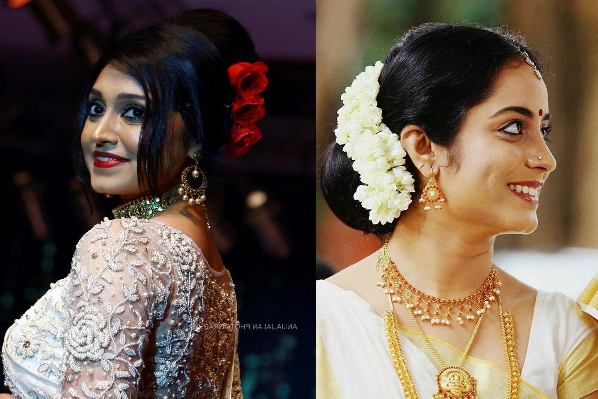 Bridal Makeup – Best Bridal Makeup Kochi Kerala Cochin Ernakulam Within Newest Wedding Hairstyles For Kerala Christian Brides (View 8 of 15)