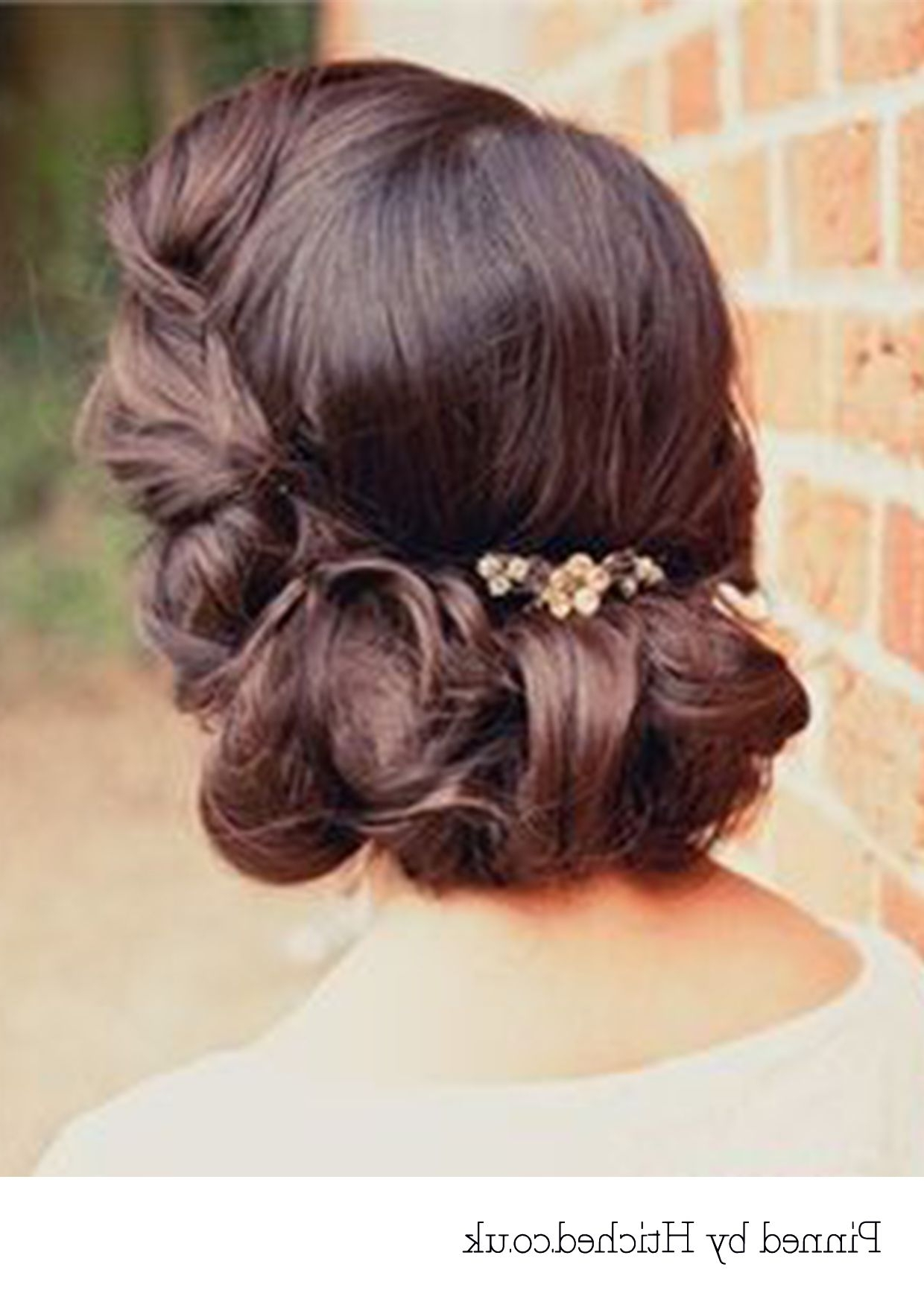 Featured Photo of Roll Hairstyles For Wedding
