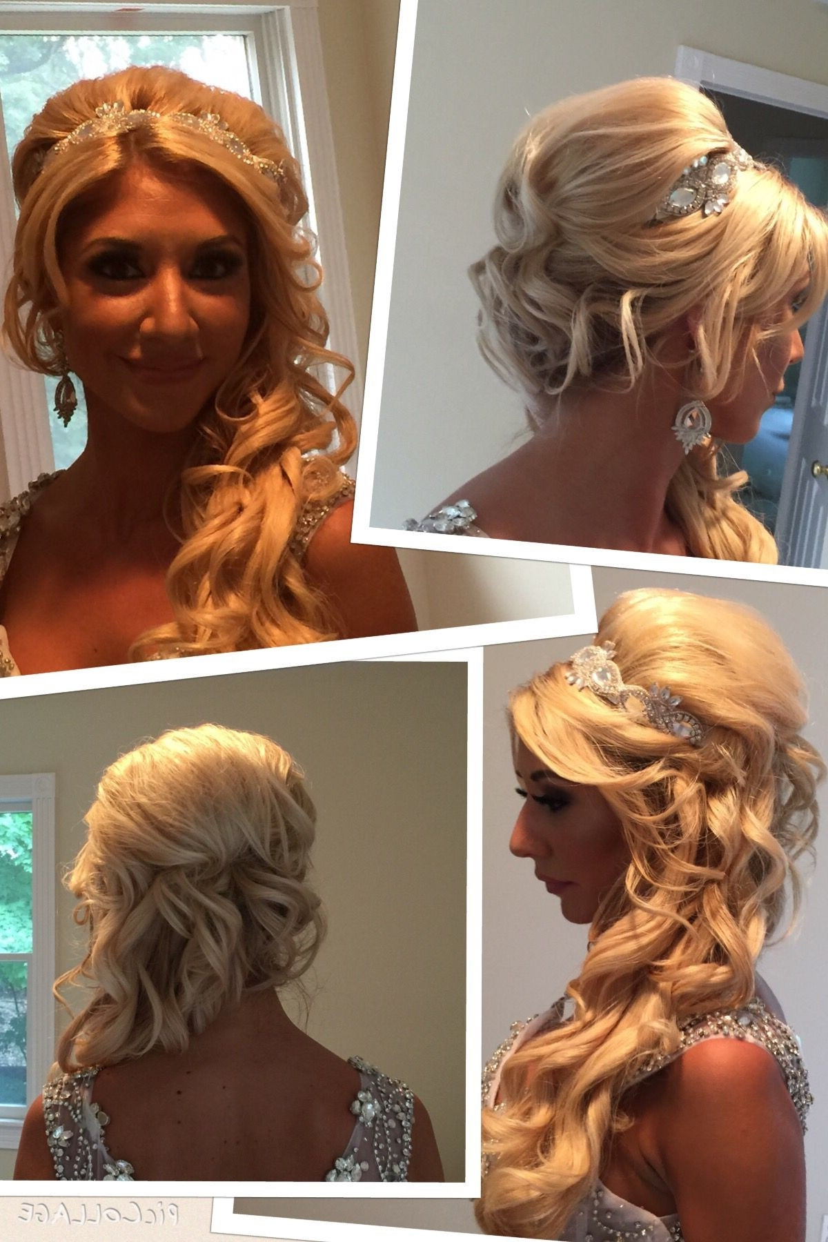 Bridal Updo I Did (View 9 of 15)