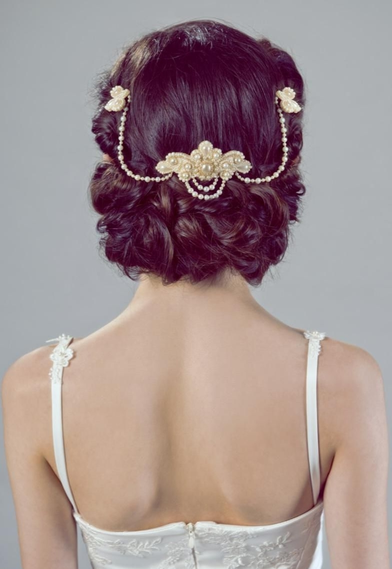 Bridal With Preferred Romantic Vintage Wedding Hairstyles (View 14 of 15)