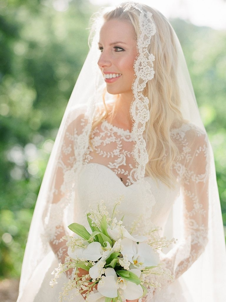 Bride Hairstyles With Veil New 20 Wedding Hairstyles For Long Hair Intended For 2017 Wedding Hairstyles Without Veil (View 1 of 15)
