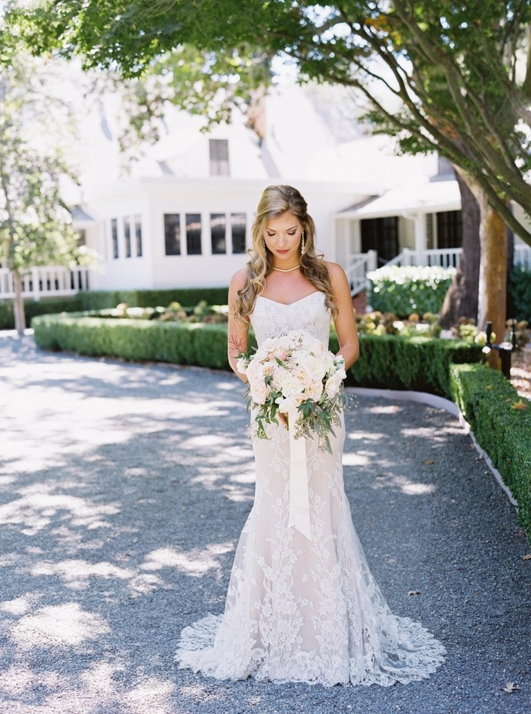 Brides Throughout Fashionable Wedding Hairstyles For A Strapless Dress (View 6 of 15)