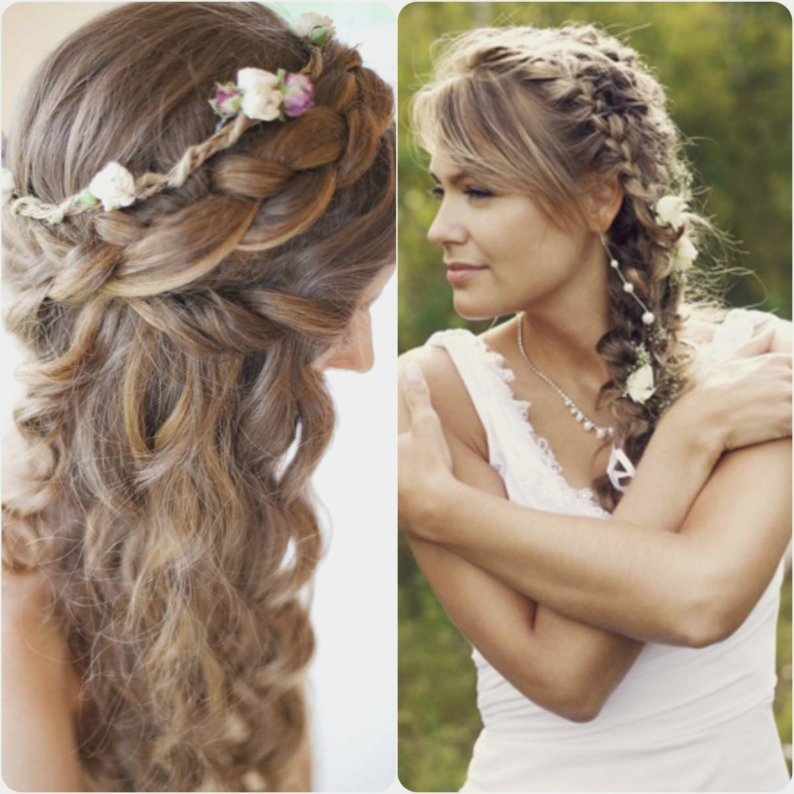 Brides – Wedding Hair Side Braid Pertaining To Most Recent Side Braid Wedding Hairstyles (View 7 of 15)