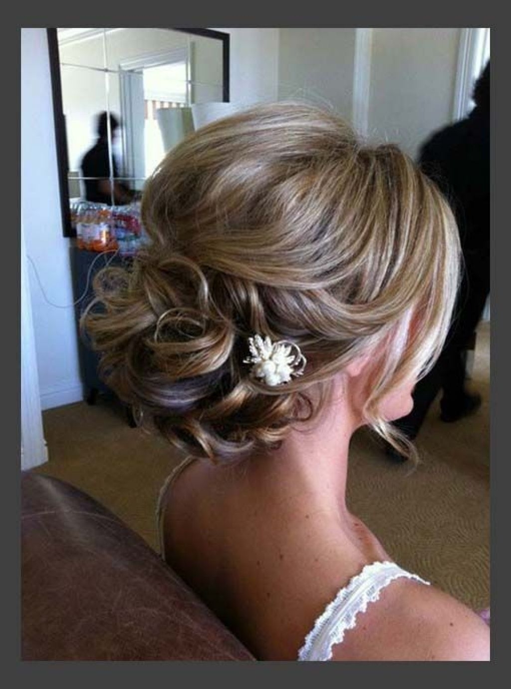 Photo Gallery of Modern Wedding Hairstyles For Medium Length ...