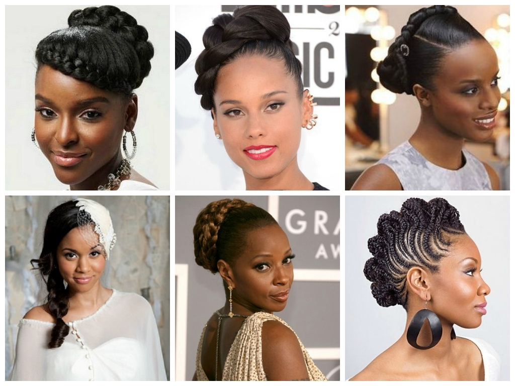 Bridesmaids Hairstyle For Blacks Bridesmaid Hairstyle For Black Within Latest Wedding Hairstyles For Black Bridesmaids (View 4 of 15)