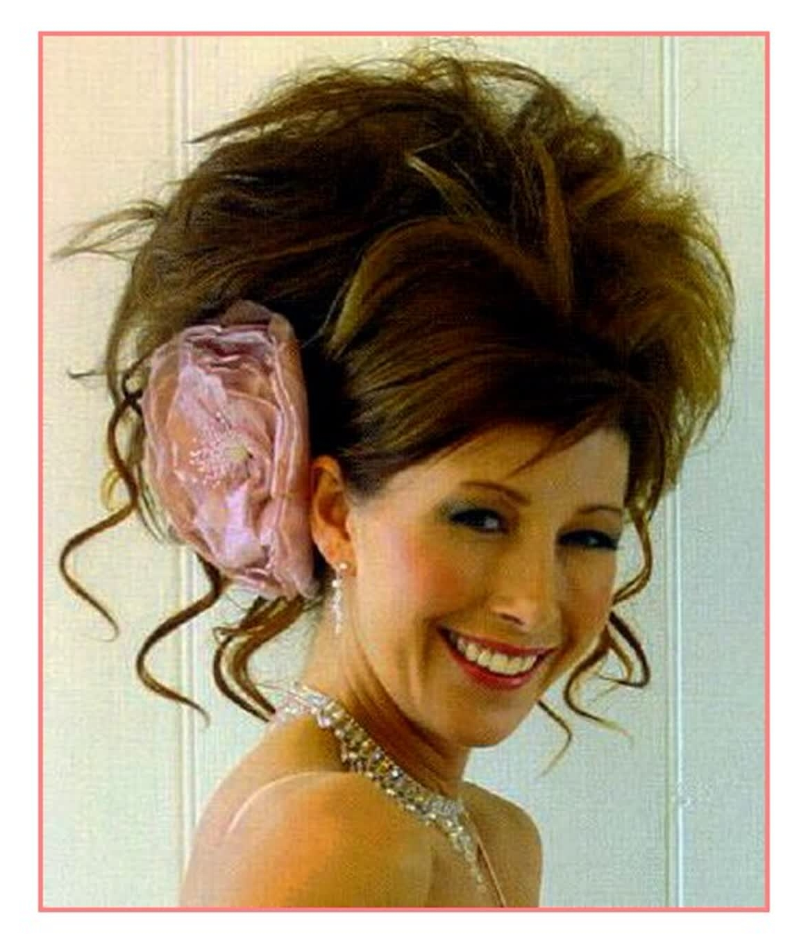 Brilliant Ideas Big Curly Wedding Hairstyles – Best Hairstyles For With Regard To Widely Used Big Curls Wedding Hairstyles (View 6 of 15)