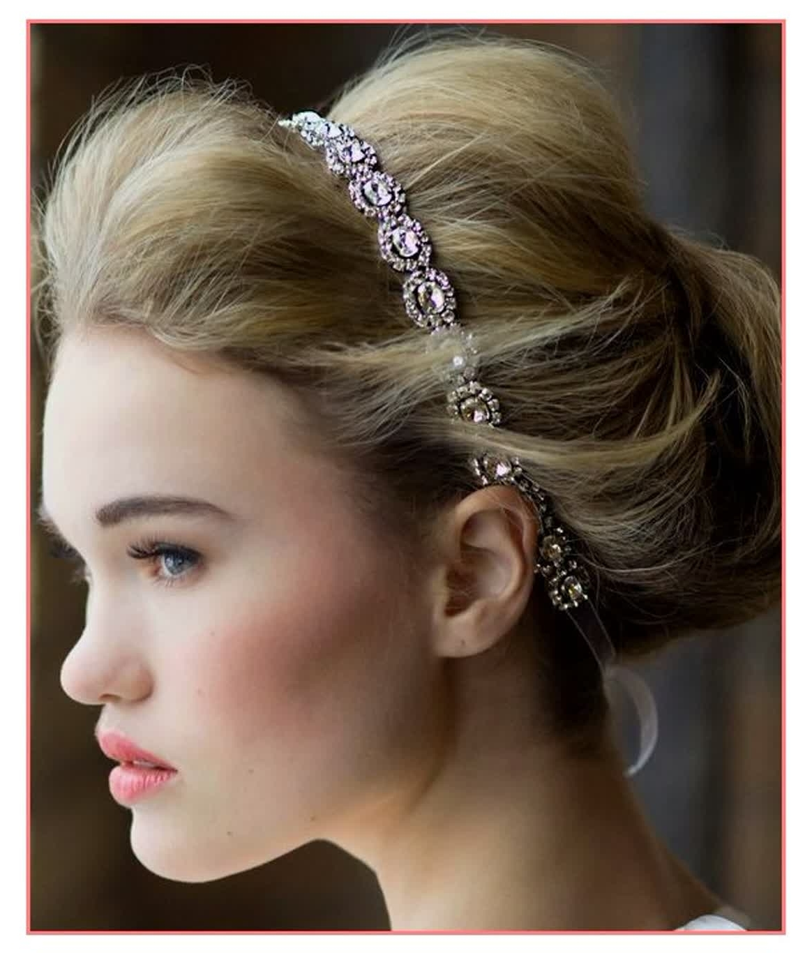 Brilliant Ideas Wedding Hairstyles Updo With Headband – Best With Most Recently Released Wedding Hairstyles With Headband (View 15 of 15)