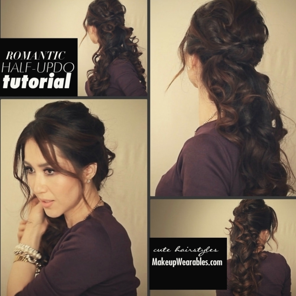 Casual Updo Hairstyles For Long Hair Casual Wedding Hairstyles For Regarding 2018 Casual Wedding Hairstyles For Long Hair (View 3 of 15)