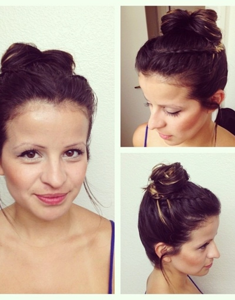 Casual Updos For Short Length Hair – Hollywood Official In Well Known Casual Wedding Hairstyles For Short Hair (View 3 of 15)