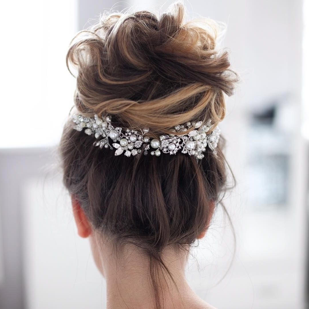 Chignon Regarding Famous Messy Wedding Hairstyles For Long Hair (View 2 of 15)