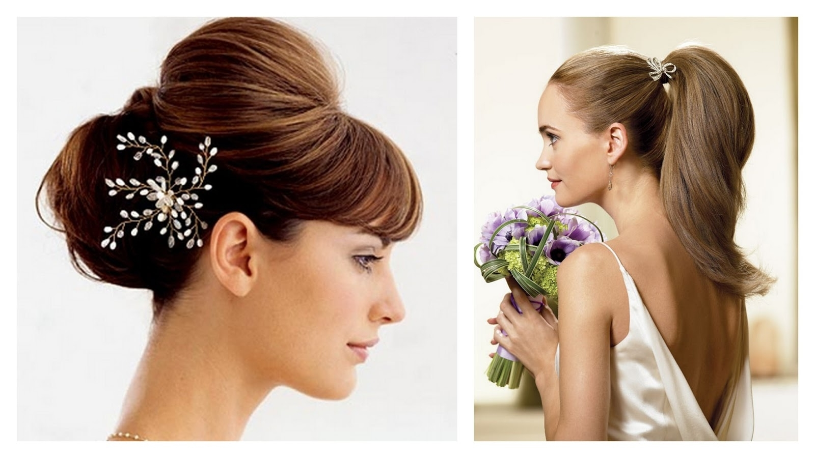 Clip Hair Extensions Hairstyles Wedding Hairstyle Updos (View 4 of 15)