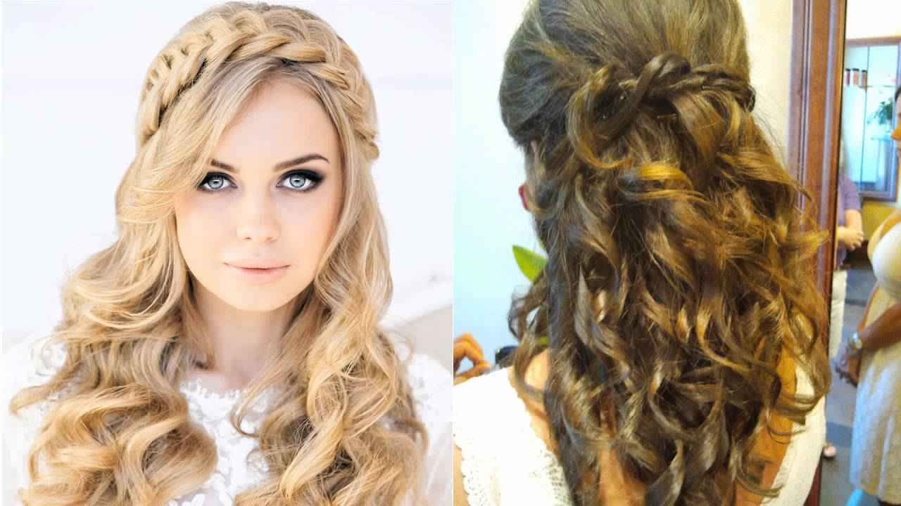 Featured Photo of Wedding Guest Hairstyles For Long Curly Hair