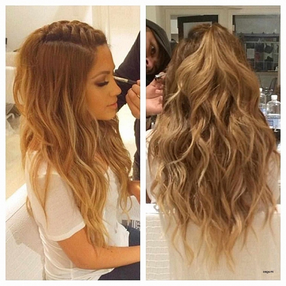 Curly Hairstyles Best Of Easy Pretty Hairstyles For Curly Ha With Most Current Quick Wedding Hairstyles For Long Hair (View 13 of 15)