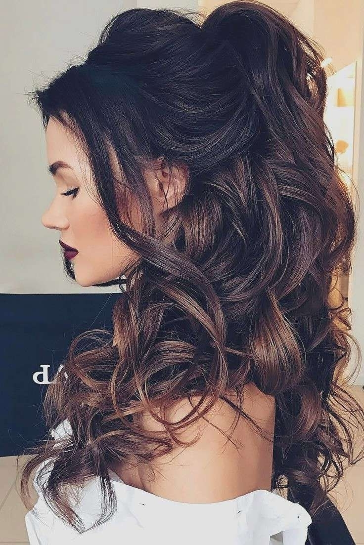 Curly Hairstyles For Wedding Guests Awesome Best 25 Long Wedding Intended For Favorite Wedding Guest Hairstyles For Long Curly Hair (View 5 of 15)