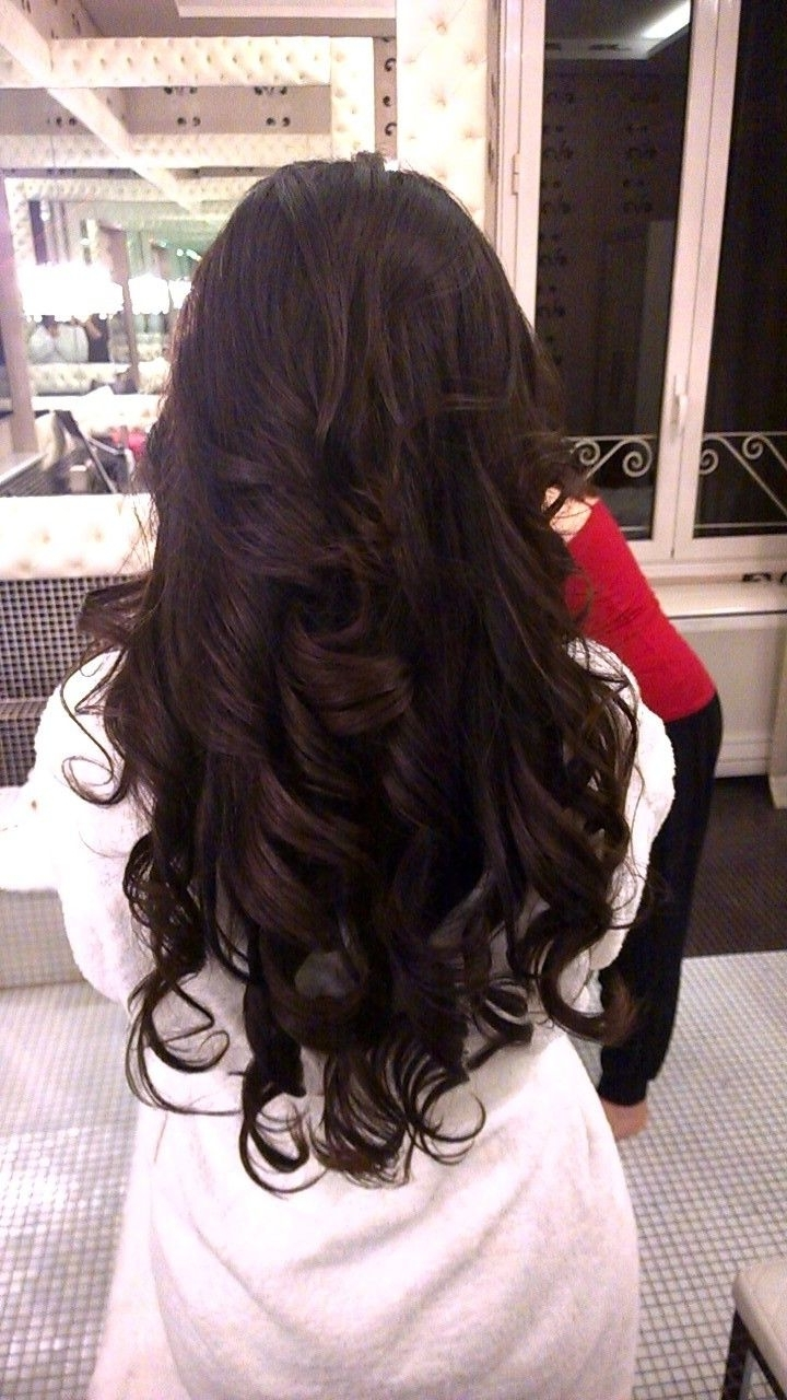 Current Big Curls Wedding Hairstyles With Regard To Hottest Down Wedding Hairstyles With Big Curlsjanita Helova Www (View 5 of 15)