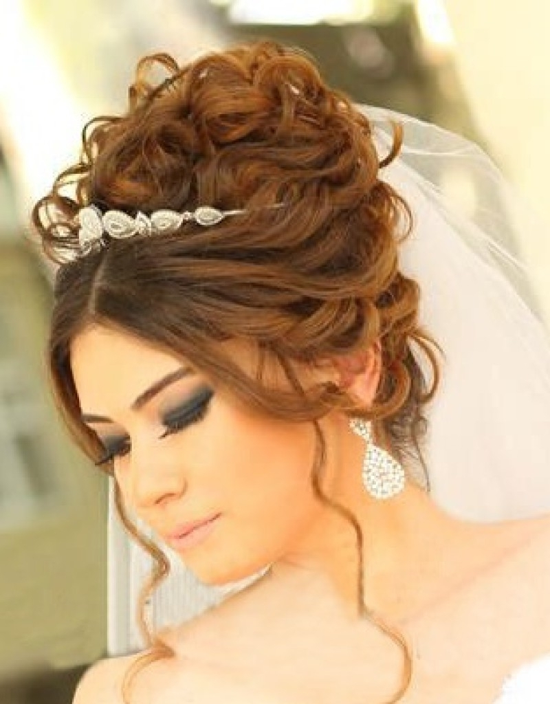 Current High Updos Wedding Hairstyles Inside High Updo Wedding Hairstyle 1000+ Ideas About High Updo Wedding On (View 5 of 15)