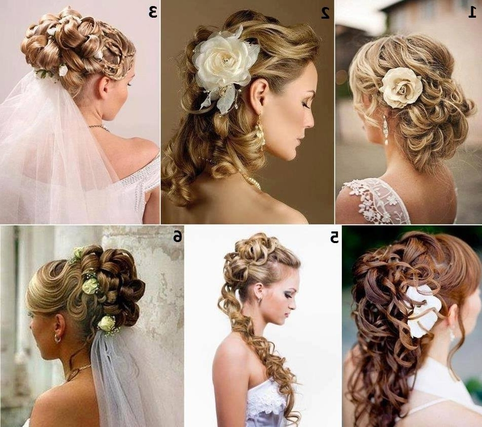 Current Long Wedding Hairstyles With Flowers In Hair In Bridal Hairstyles With Flowers (View 10 of 15)