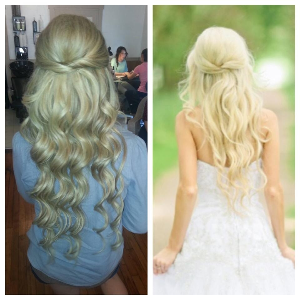 Current Wedding Hairstyles For Blonde Within Inspiring Bridal Hair Long Extensions Blonde Christina Snyder Of (View 7 of 15)