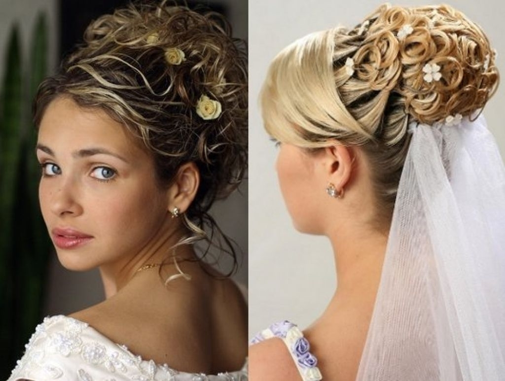 Featured Photo of Wedding Hairstyles For Long Hair Up With Veil