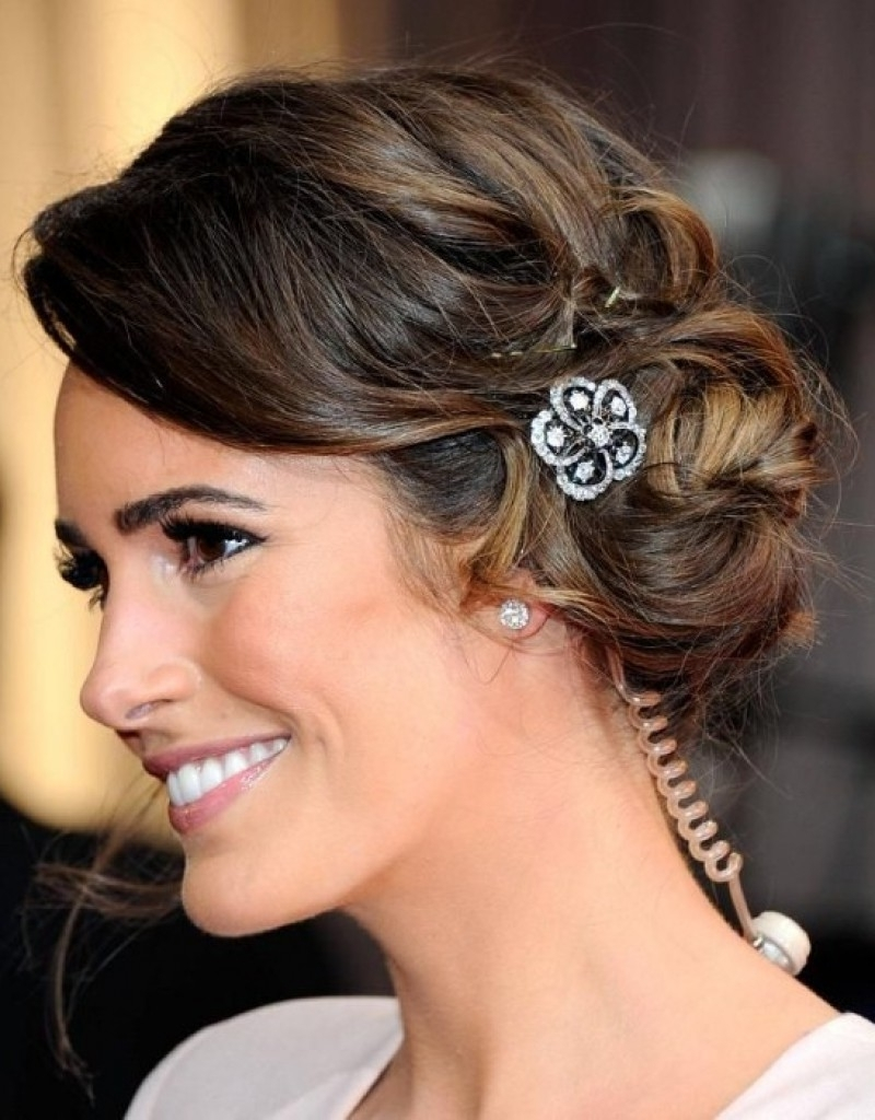 Current Wedding Hairstyles For Round Shaped Faces Intended For Curly Wedding Hairstyle – Hairstyle For Women & Man (View 2 of 15)