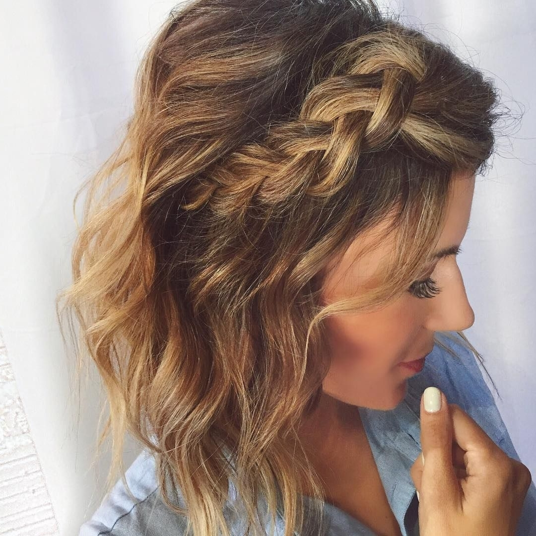 Current Wedding Hairstyles For Short Hair With Extensions Inside Dutch Braid – Looking For Affordable Hair Extensions To Refresh Your (View 3 of 15)
