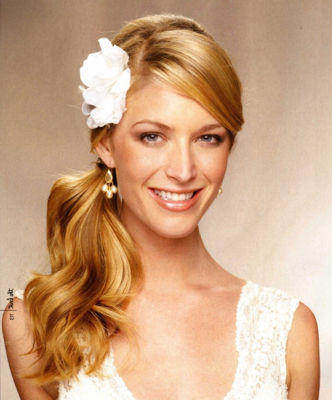 Current Wedding Hairstyles Long Side Ponytail Hair Regarding Amazing Wedding Hairstyles For Medium Length Hair Side Ponytail U (View 8 of 15)
