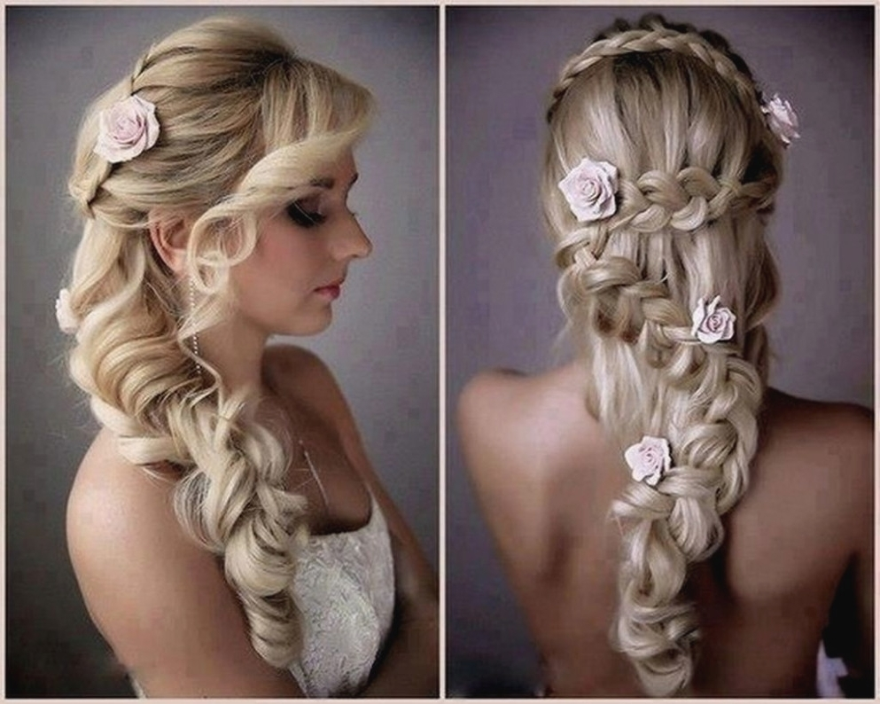 Current Wedding Side Hairstyles Pertaining To Bride Side Hairstyle Wedding Hairstyles Side Swept Ponytail Wedding (View 4 of 15)