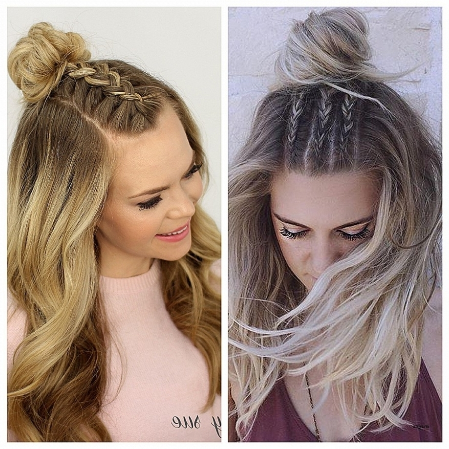 Cute Hairstyles New Cute Half Up Half Down Hairstyles For Pertaining For Newest Wedding Hairstyles For Down Straight Hair (View 4 of 15)