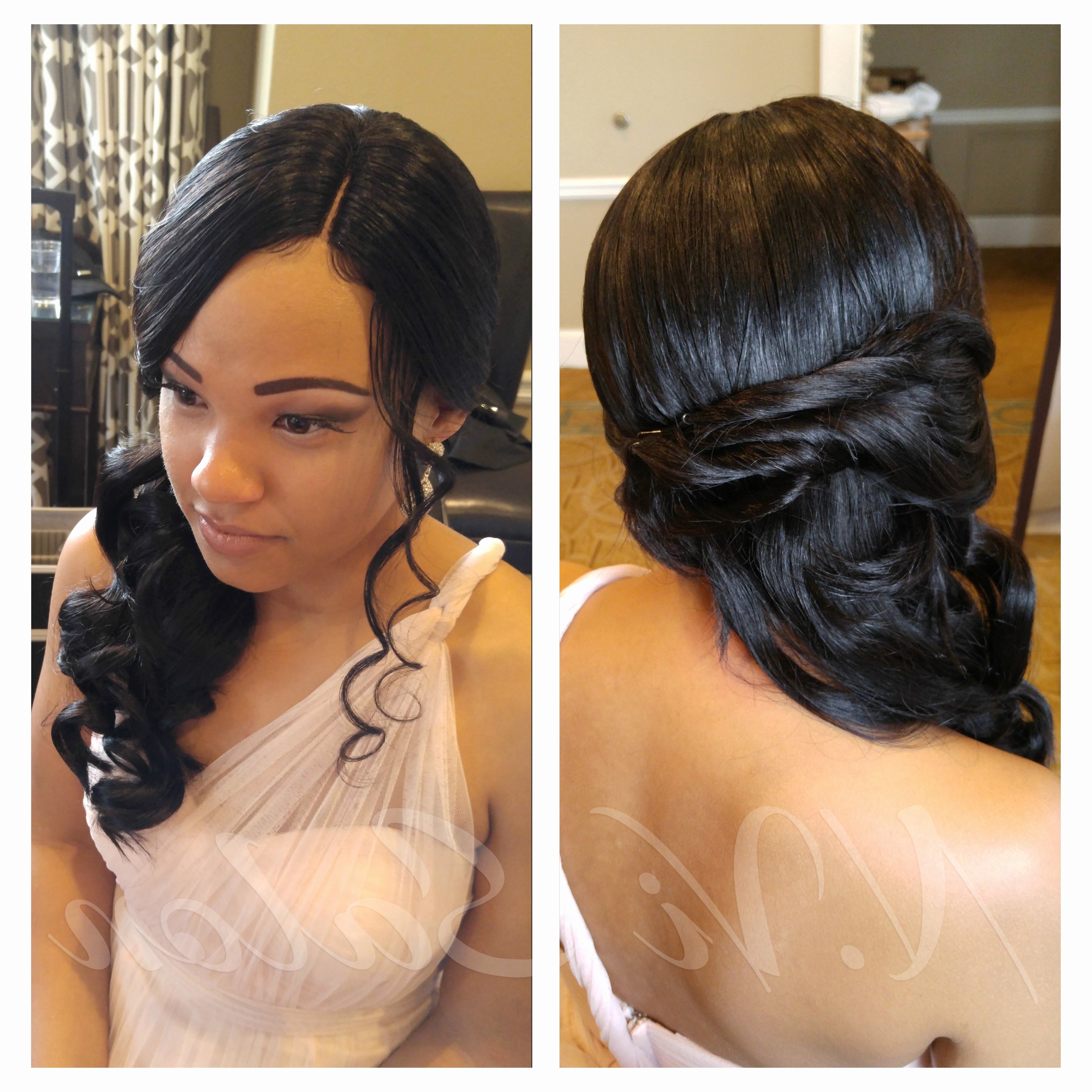 Cute Hairstyles With Sew Ins Perfect Wedding Hairstyles Beautiful Inside Most Up To Date Wedding Hairstyles With Weave (View 7 of 15)