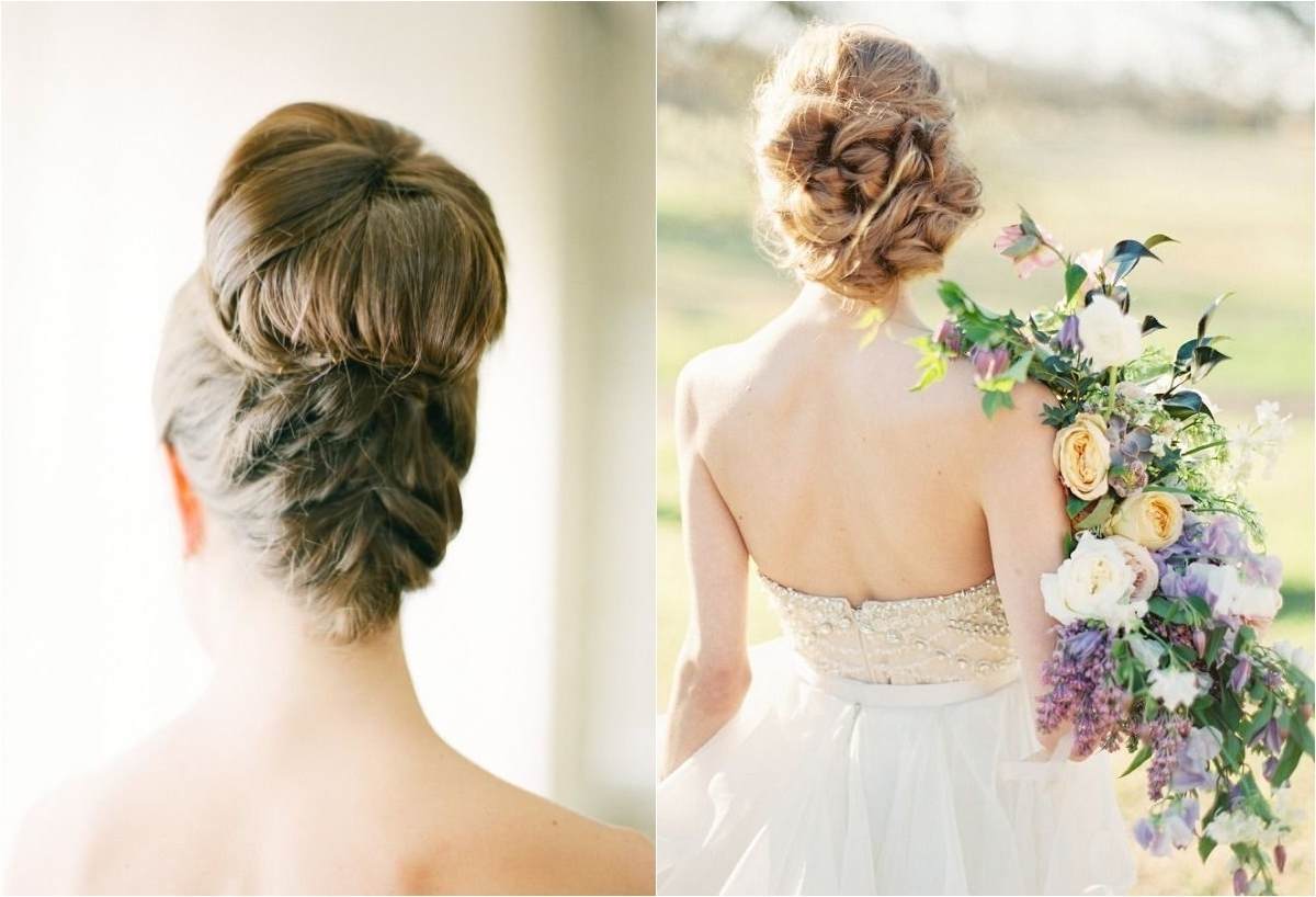 Deer Inside Best And Newest Wedding Hairstyles With Braids For Bridesmaids (View 13 of 15)