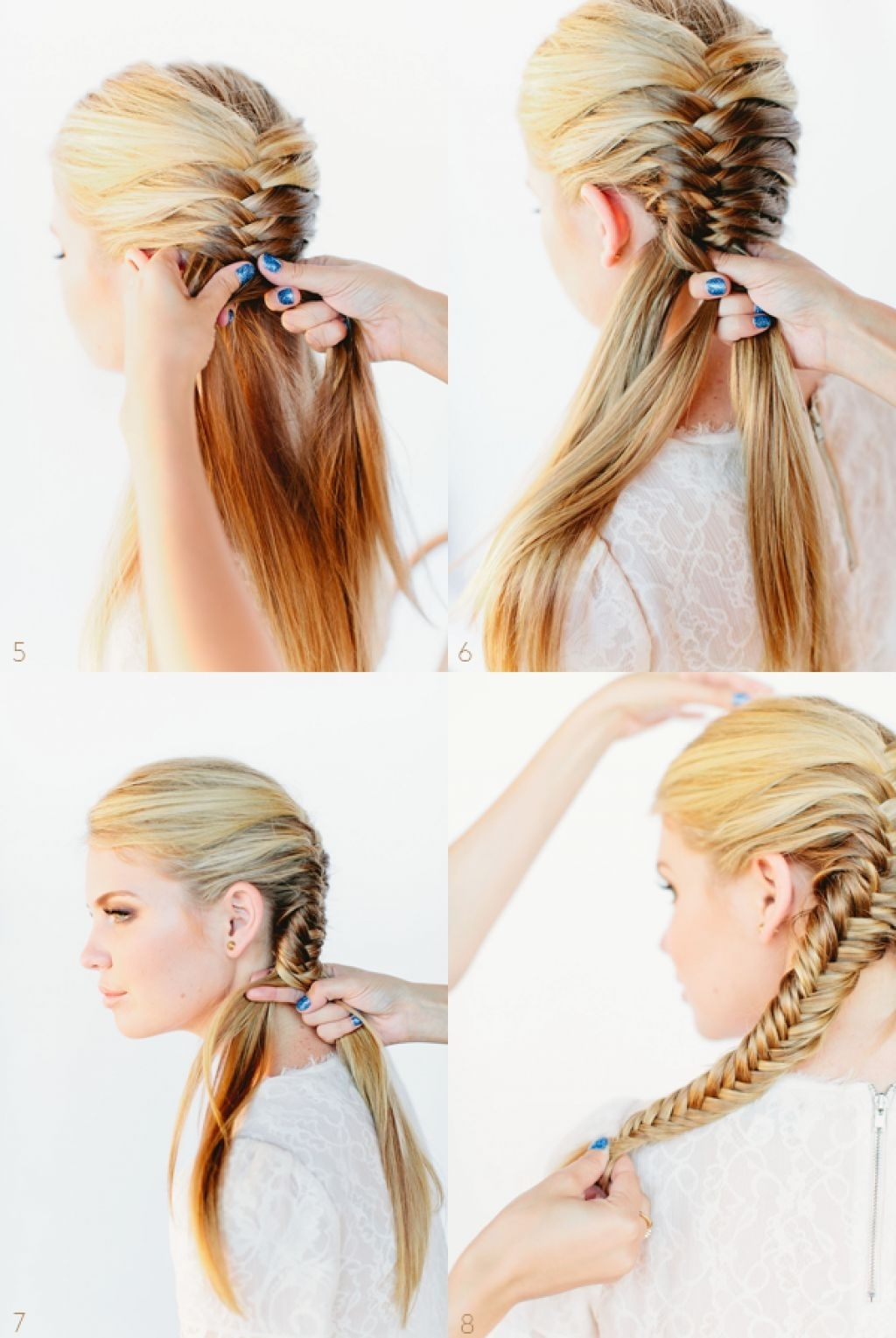 Diy Fishtail Braid Tutorial In Well Liked Fishtail Braid Wedding Hairstyles (Gallery 13 of 15)