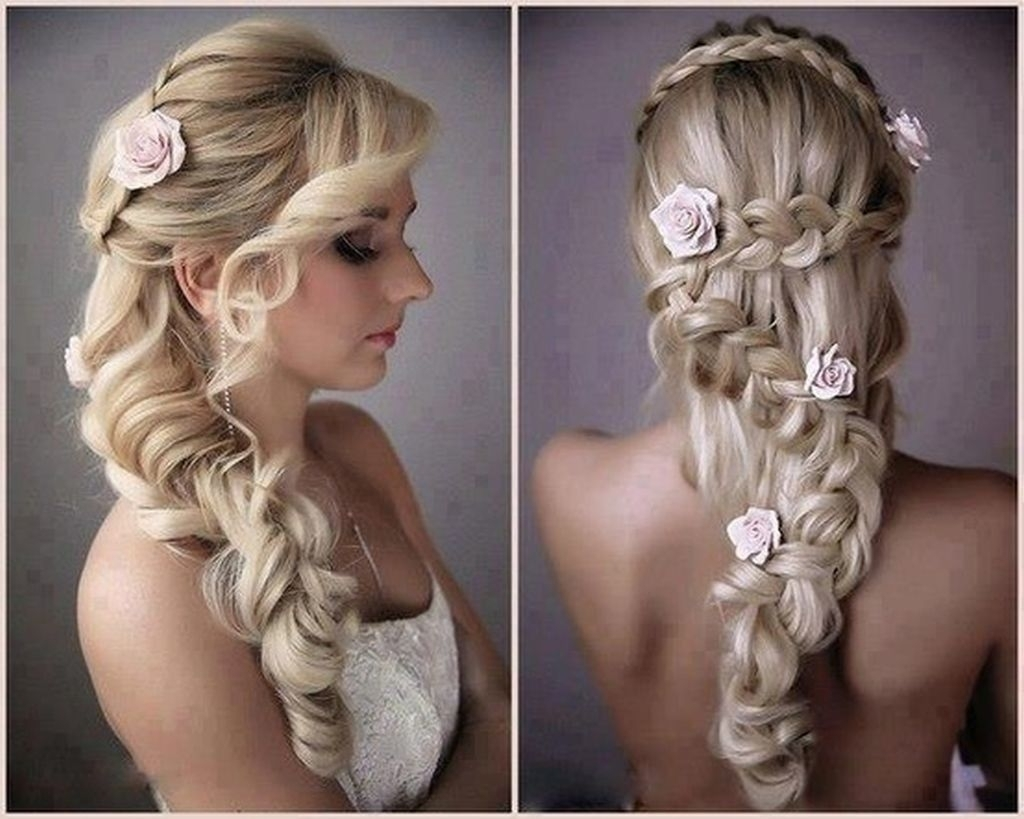 √ 24+ Unique Wedding Hairstyles For Long Hair Down: Hairdo For Long Regarding Best And Newest Wedding Hairstyles For Really Long Hair (View 1 of 15)