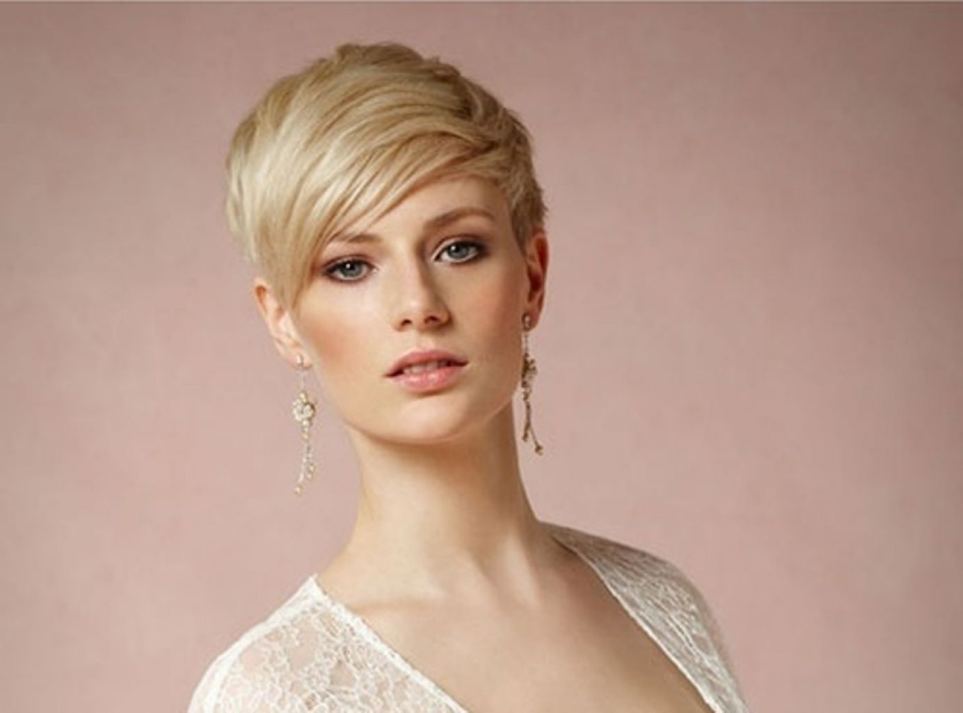 √ Wonderful Wedding Hairstyles Short Hair Pictures – Hairstyle For Pertaining To Widely Used Wedding Hairstyles For Short Hair And Bangs (View 1 of 15)